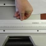 Schiebeschlitten der Bosch GTS 10 XC justieren