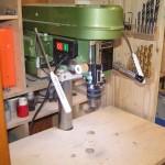 Mannesmann Säulenbohrmaschine M 1251  - Licht, Tiefenstop und digitale Tiefenmessung