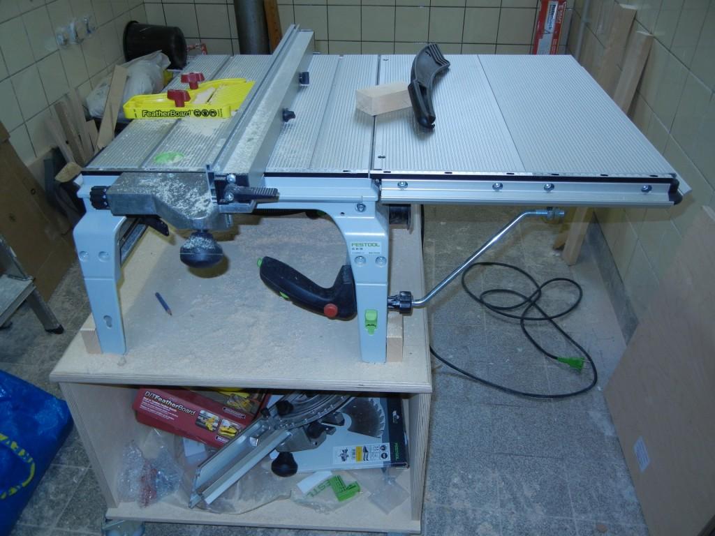 CS50 mit Tischverbreiterung