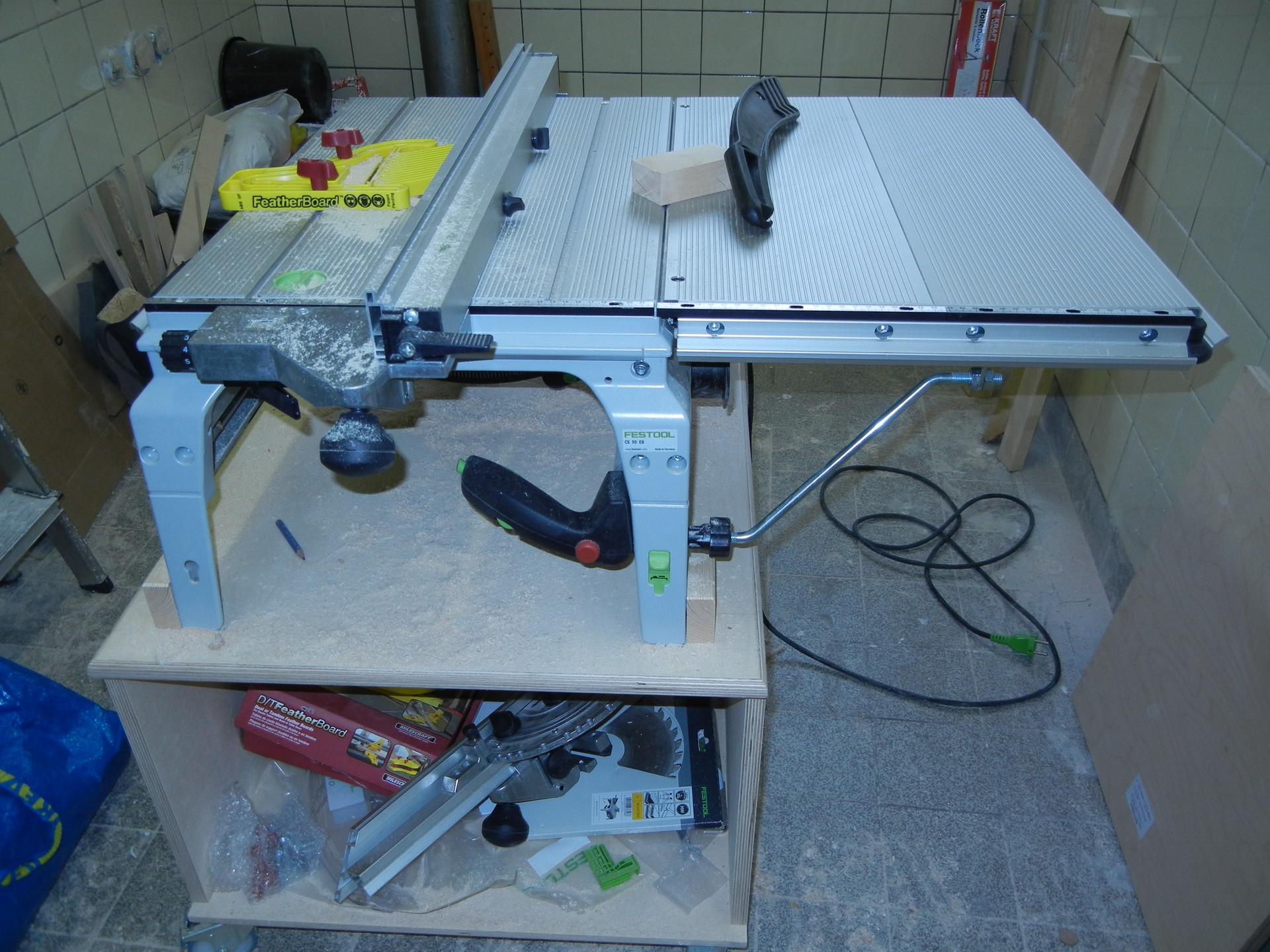 test: festool precisio cs50 | hobby-holzwürmer