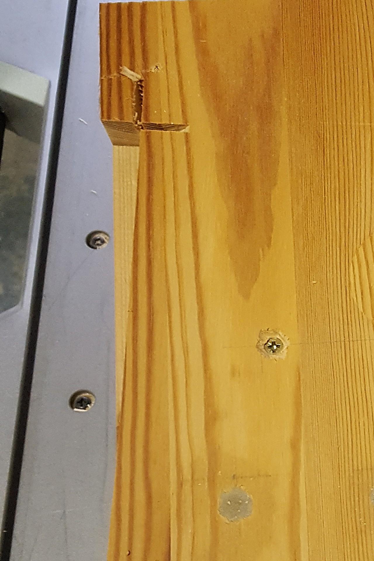 keile mit einer einfachen vorrichtung schneiden hobby holzw rmer. Black Bedroom Furniture Sets. Home Design Ideas