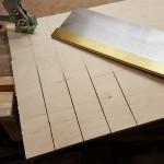 Leisten für Grundplatte schneiden