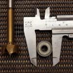 22mm Außenduchmesser und passender Forstnerbohrer