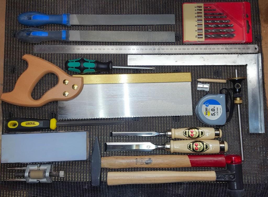 Grundausstattung Handwerkzeuge