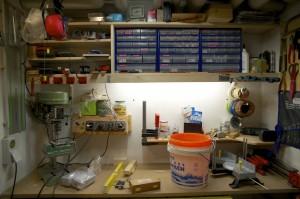 Werkstatt auf 3,6 Quadratmetern