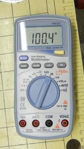 100 dB auf Schalldruck mit falschen Schlauch