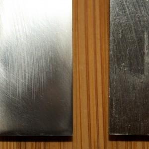 Spiegelseite - vorher und nachher
