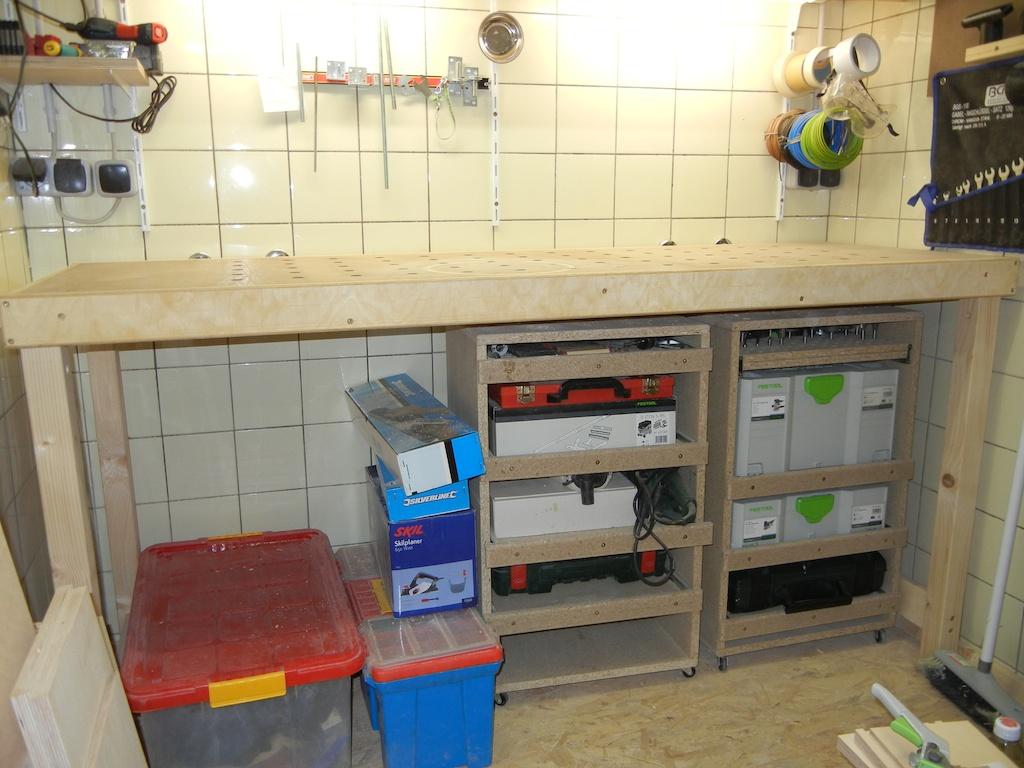 Werkbank Im Eigenbau Individuell Und Einfach Hobby Holzwurmer